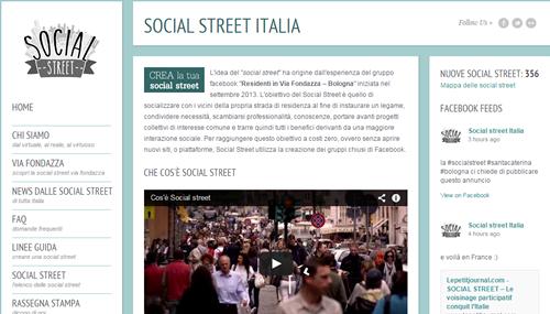 Quello delle Social Street è un fenomeno in crescita in Italia