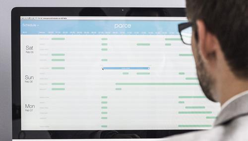 Con l'app di Parce One è possibile monitorare i consumi e programmare il funzionamento di ciascun apparecchio collegato