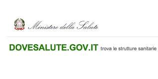 Il portale del Ministero della Salute sulle strutture sanitarie