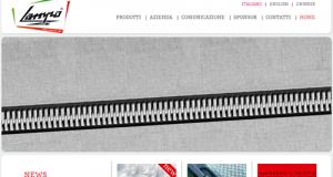 Il sito Lampo della Lafranchi Spa, l'azienda italiana leader nelle chiusure lampo che punta sul Welfare Aziendale