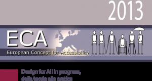 L'edizione 2013 in italiano della guida ECA per la progettazione accessibile