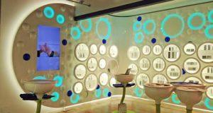 Un immagine della farmacia Dr Fleming a Milano