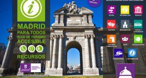 La schermata della app per il turismo accessibile della città di Madrid