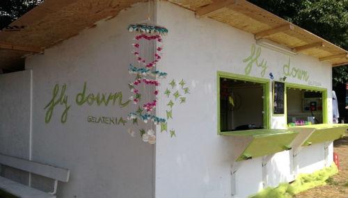 Il chiosco di gelati di Fly Down