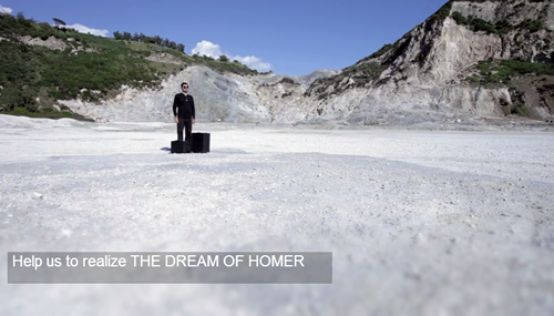 Il Sogno di Omero, un progetto di docufilm indipendente per narrare i sogni delle persone non vedenti, per la cui realizzazione è stata lanciata una campagna di raccolta fondi su indiegogo