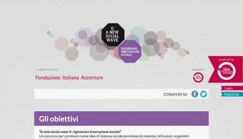 Da Iris Network Fondazione Accenture e Idea 3 A New Social Wave per rigenerare l'innovazione sociale