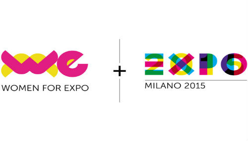 Logo di WE Woman for expo ed Expo Milano 2015