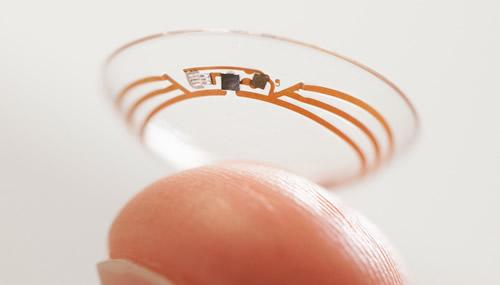 Le Google Smart Lenses sono uno dei prodotti del Google X Lab oggetto di un recente accordo con la multinazionale Farmaceutica Novartis