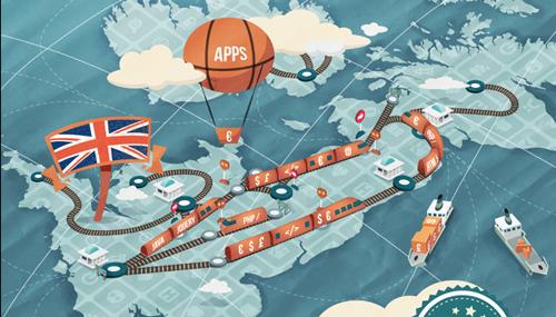 Copertina del report Uk App Economy 2014 - il report di Vision Mobile per Google sulla App Economy nel Regno Unito rivela una forte crescita di posti di lavoro