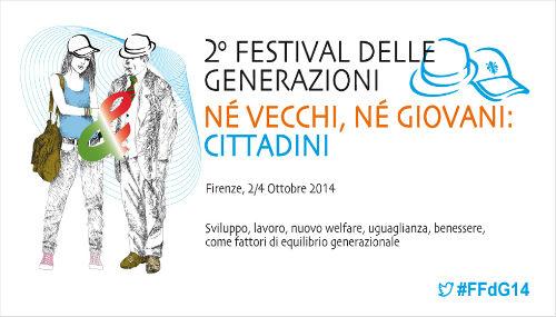 A Firenze la seconda edizione del Festival delle generazioni