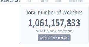Secondo l'osservatorio america sul web Internet Live Stats, sono ormai oltre un miliardo i siti internet nel mondo