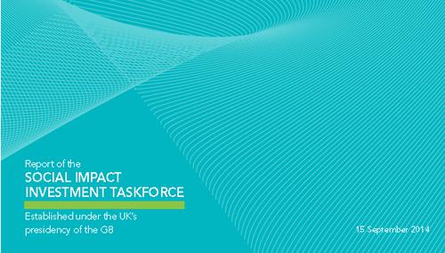 Social Impact Investment, la copertina del report 2014 sull'impatto sociale degli investimenti voluto dal G8