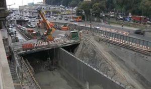 I lavori per l'allargamento del rio Bisagno, bloccati dal TAR e molto lontani dall'essere terminati