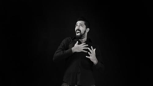 Poesia in Movimento - Emozioni e pensieri nella Lingua dei Segni: Lorenzo Laudo (foto di Ilenia Piccioni e Antonio Tiso - Molo7 Photo Agency)