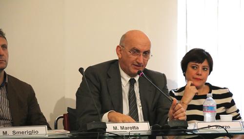 Maurizio Marotta, coordinatore dell'Osservatorio per il Non Profit della CCIAA di Roma e presidente della Cooperativa Sociale ed Integrata Capodarco