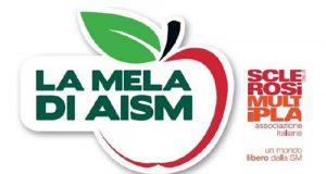 La mela, il simbolo ed il prodotto attraverso cui l'Aism, Associazione italiana Sclerosi Multipla, promuove la raccolta fondi 2014