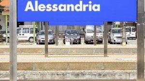 Il binario della stazione di Alessandria che hanno impedito di attraversare alla moglie di Francesco