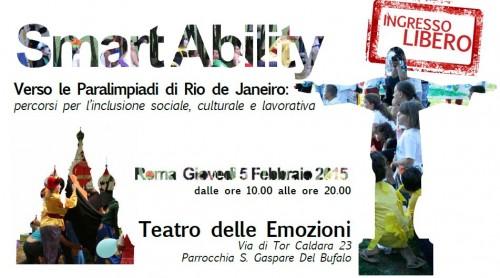 Smart Ability, l'evento promosso dal Presidio del Lazio come momento di riflessione prima delle Paralimpiadi del di Rio del 2016
