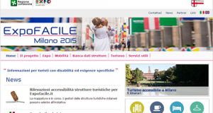expofacile.it, il portale per l'accessibilità dell'Expo 2015 di Milano