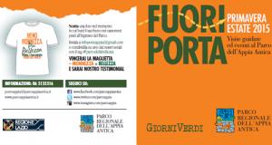 Fuori Porta, nel Parco Regionale dell'Appia Antica fino a luglio 100 eventi per conoscere arte, storia e ambiente