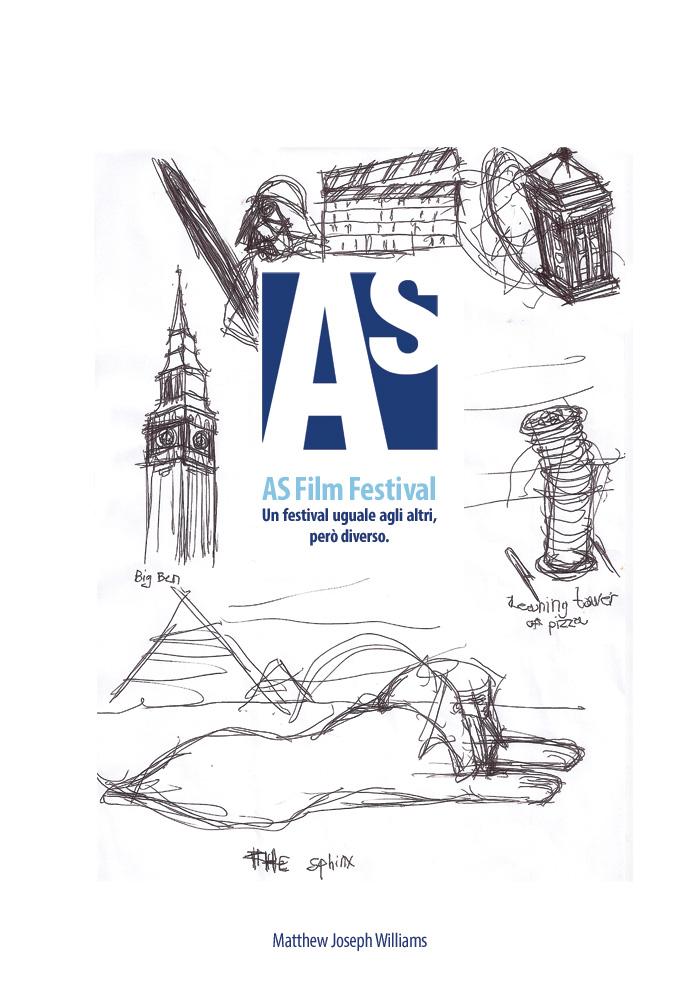 ASff, uno dei poster selezionati per l'edizione dello scorso anno (Matthew Joseph Williams)