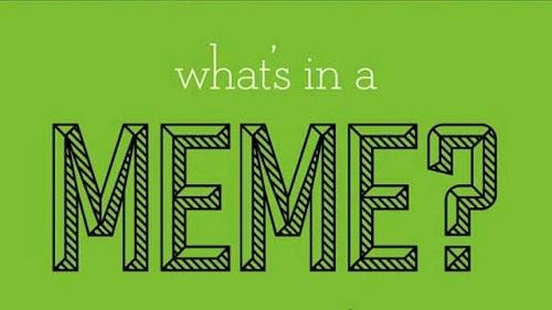La diffusione dei meme in rete