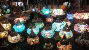 Lampade turche al Festival dell'Oriente