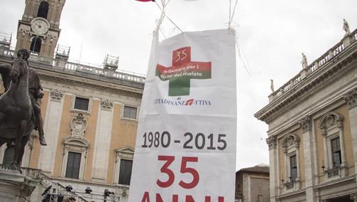 Il Tribunale per i Diritti del Malato ha festeggiato nel 2015 i 35 anni dalla sua fondazione
