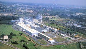 Lo stabilimento di Florange della Arcelor-Mittal, una multinazionale che recentemente ha dovuto ridimensionare parecchie sue unità