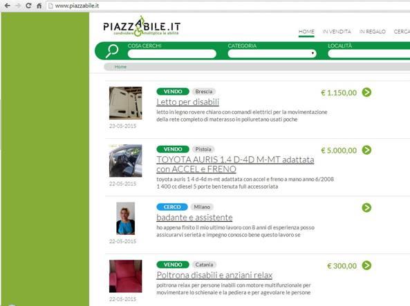 Inserire o cercare un annuncio su www.piazzabile.it è del tutto gratuito e molto facile