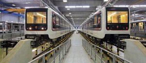 I convogli della Metro C con tecnologia driverless
