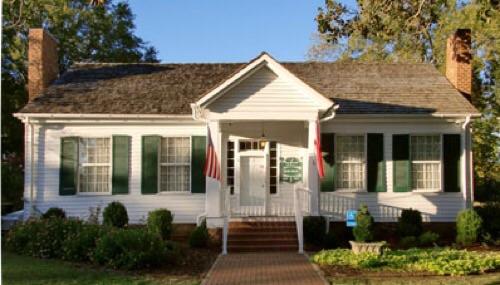 La casa di Tuscumbia, Alabama, dove Helen è cresciuta