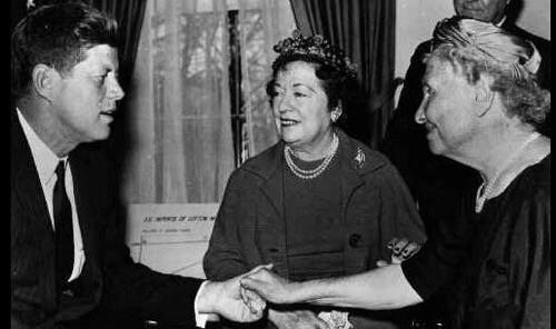 L'incontro del 1981 alla Casa Bianca tra John Francis Kennedy ed Helen Keller
