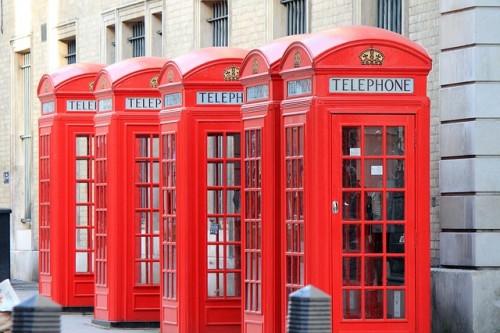 La seconda vita delle cabine telefoniche inglesi