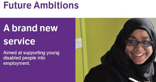 La nuova sezione Future Ambitions per trovare lavoro sul sito britannico Scope.org