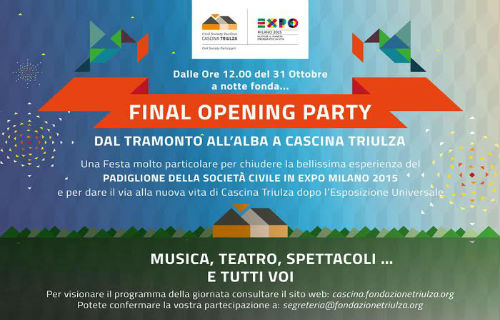 Cascina Triulza Final Opening