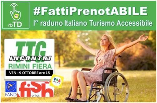 #FattiPrenotABILE per il turismo accessibile
