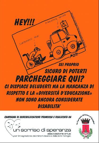 Montechiavari. Campagna per i parcheggi riservat
