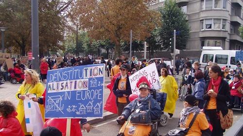 Manifestazione per la Vita indipendente