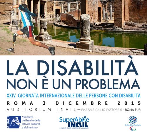 La disabilità non è un problema