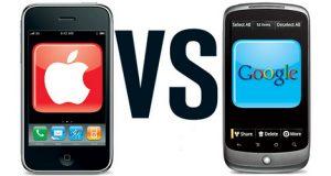 Apple e Google eterne sfidanti