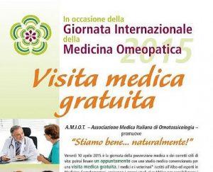 Giornata nazionale sulla medicina omeopatica