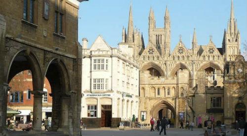 La cattedrale di Peterborough