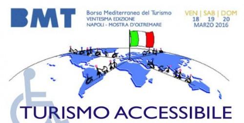 Alla BMT a Napoli si parlerà di Turismo Accessibile