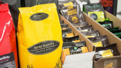 Le borse di chicchi di caffè della Masteroast