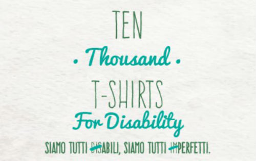 TTT - Ten thousand T-shirts For Disability