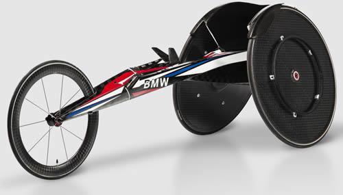 La nuova sedia a ruote di Bmw per la squadra di atletica leggera Usa alle paralimpiadi di Rio 2016