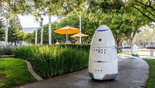 Knightscope K5, il robot da sorveglianza in sperimentazione in California