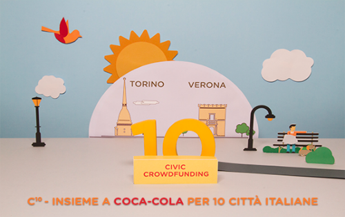 C10 – Insieme a Coca-Cola per 10 città italiane