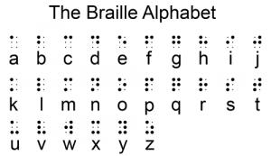 L'alfabeto Braille